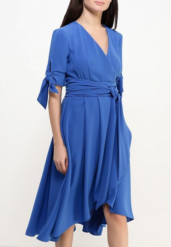 Фото 7 - женское платье Tutto Bene синего цвета