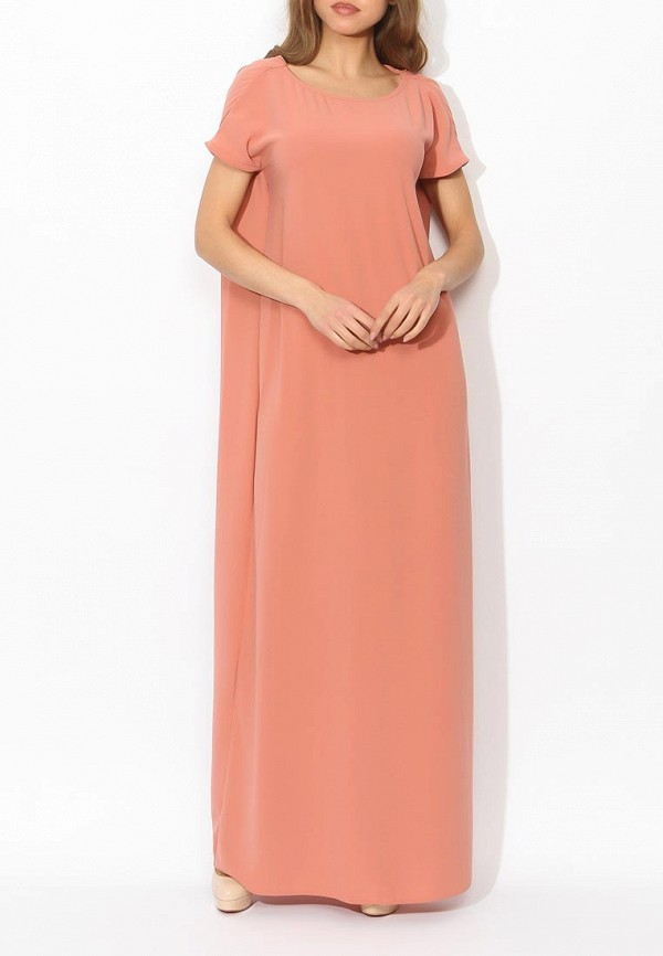 Фото 7 - женское вечернее платье Tutto Bene бежевого цвета