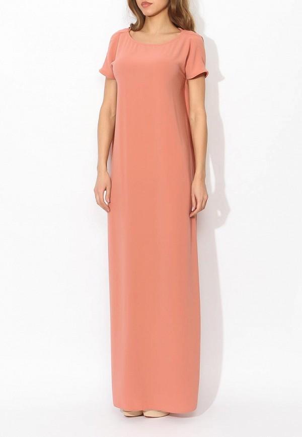 Фото 8 - женское вечернее платье Tutto Bene бежевого цвета