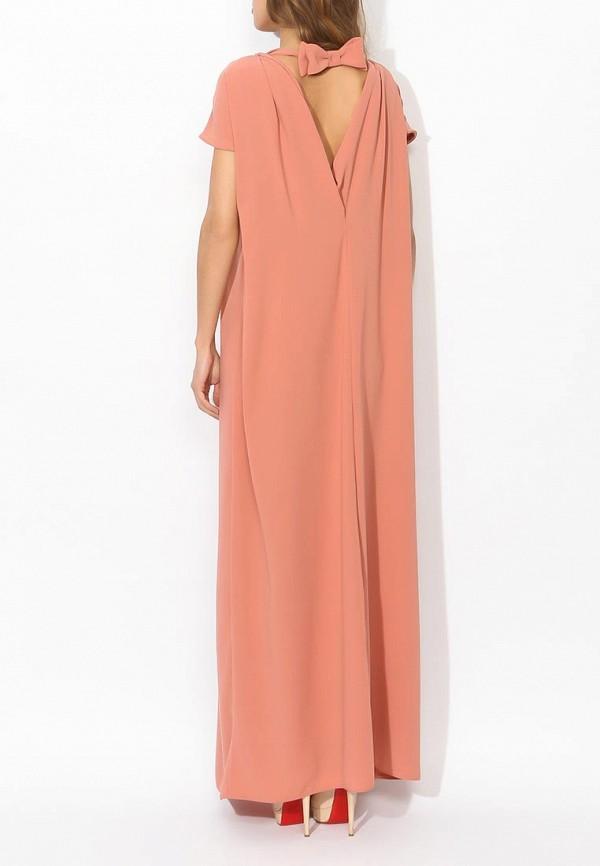 Фото 9 - женское вечернее платье Tutto Bene бежевого цвета