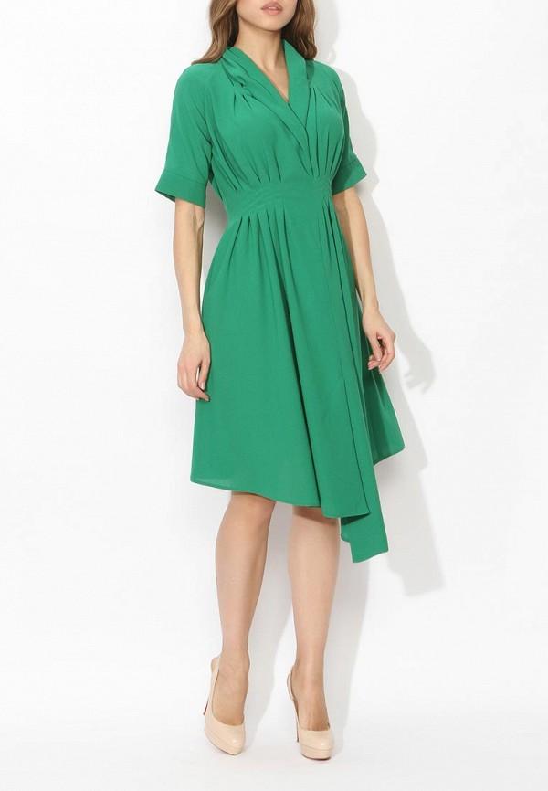 Фото 8 - женское вечернее платье Tutto Bene зеленого цвета