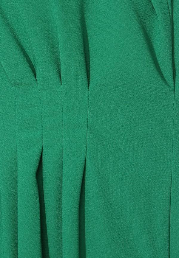 Фото 10 - женское вечернее платье Tutto Bene зеленого цвета