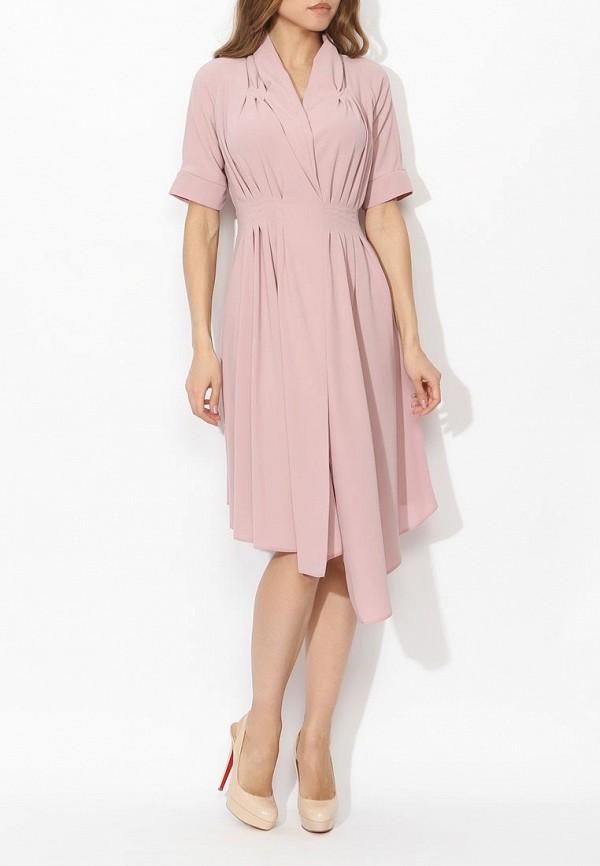 Фото 8 - женское платье Tutto Bene розового цвета