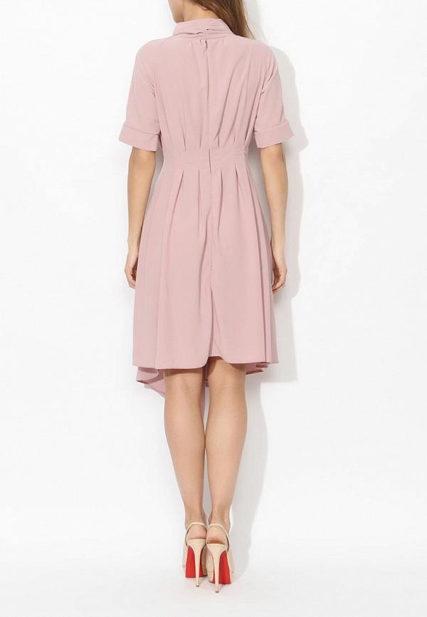 Фото 9 - женское платье Tutto Bene розового цвета