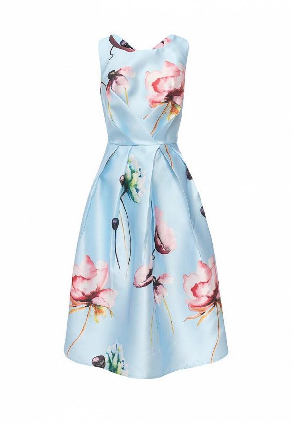 Фото 6 - женское вечернее платье Tutto Bene голубого цвета