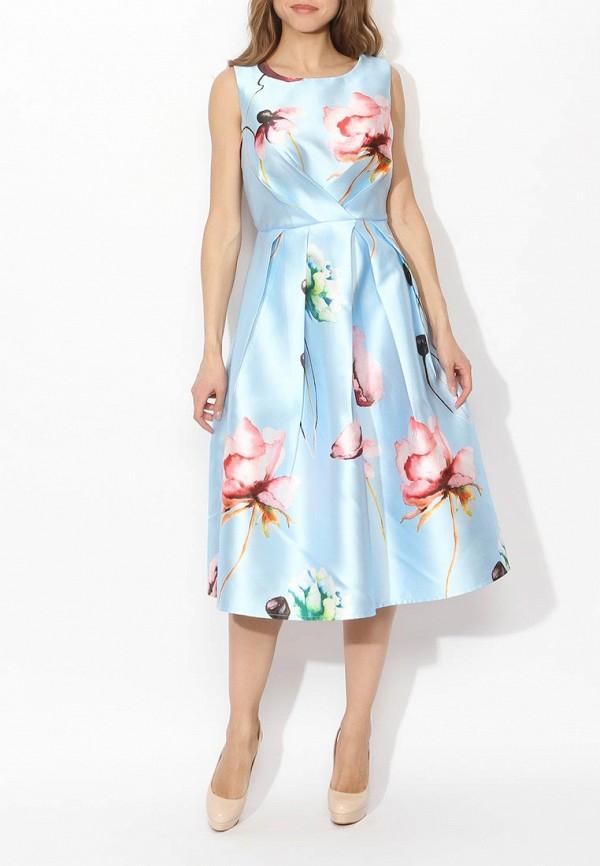 Фото 7 - женское вечернее платье Tutto Bene голубого цвета