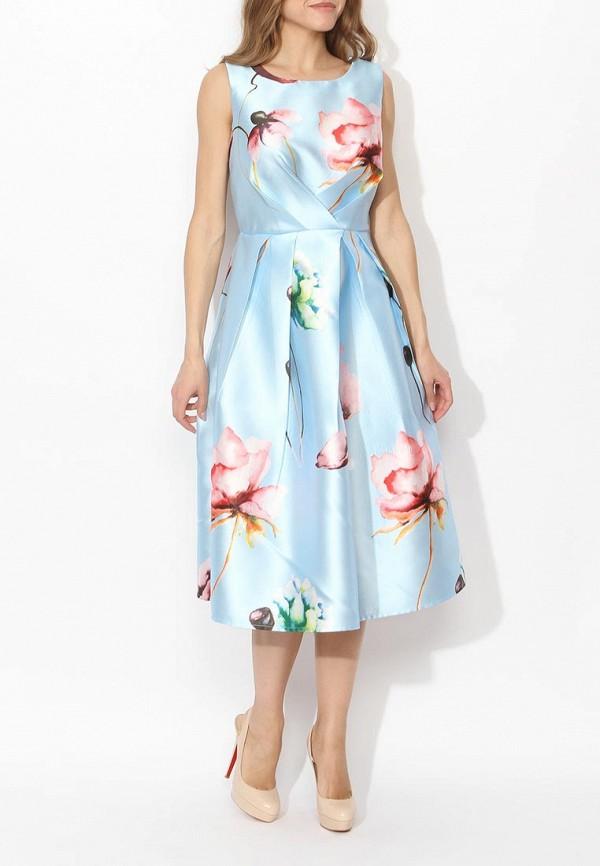 Фото 8 - женское вечернее платье Tutto Bene голубого цвета