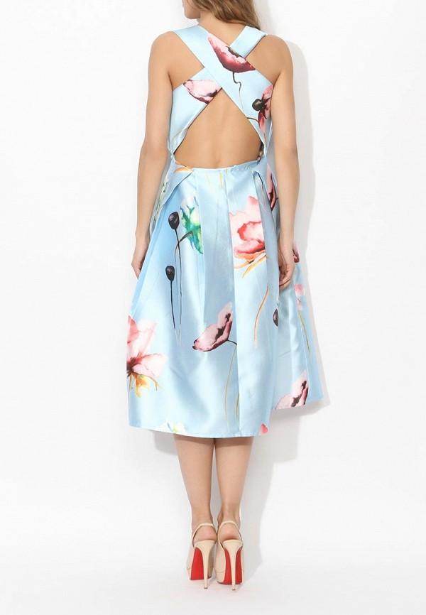 Фото 9 - женское вечернее платье Tutto Bene голубого цвета