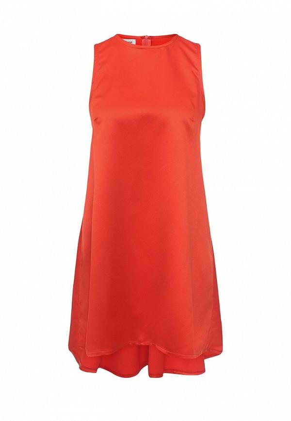 Фото 8 - женское вечернее платье Tutto Bene оранжевого цвета