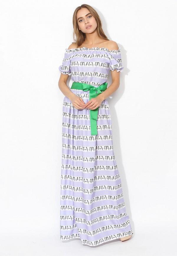 женское платье tutto bene, фиолетовое