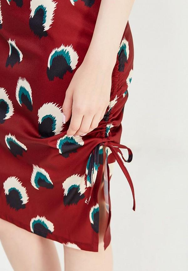 Фото 8 - женское платье Tutto Bene бордового цвета