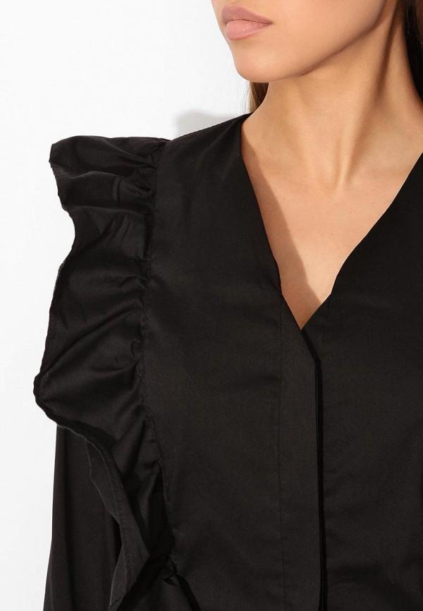 Фото 8 - женскую блузку Tutto Bene черного цвета