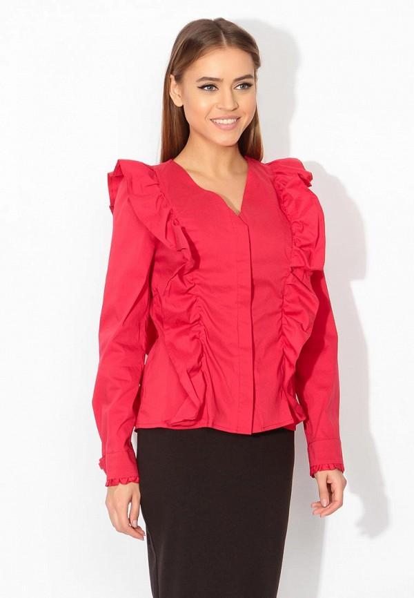 женская блузка tutto bene, красная