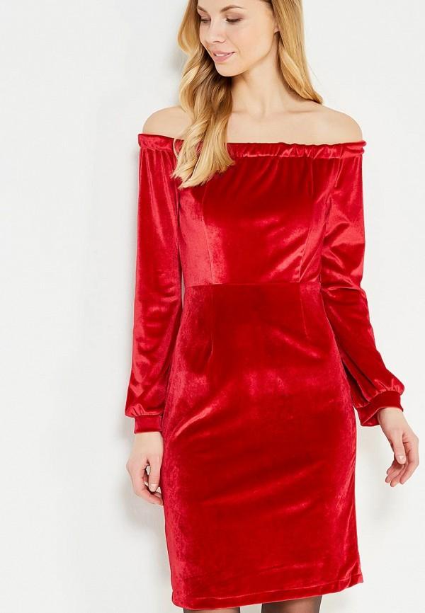 женское платье tutto bene, красное