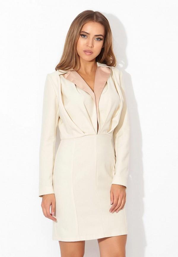 женское повседневные платье tutto bene, белое