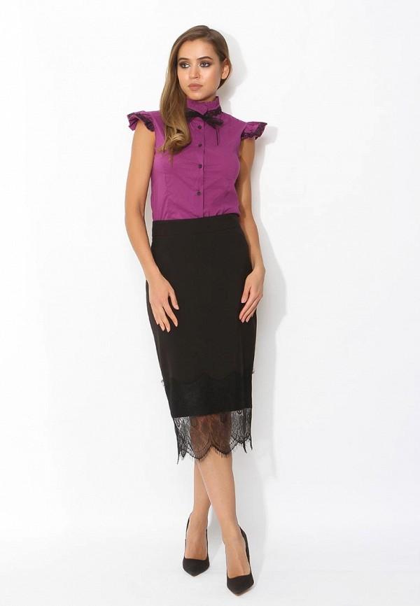 Фото 6 - женскую блузку Tutto Bene фиолетового цвета
