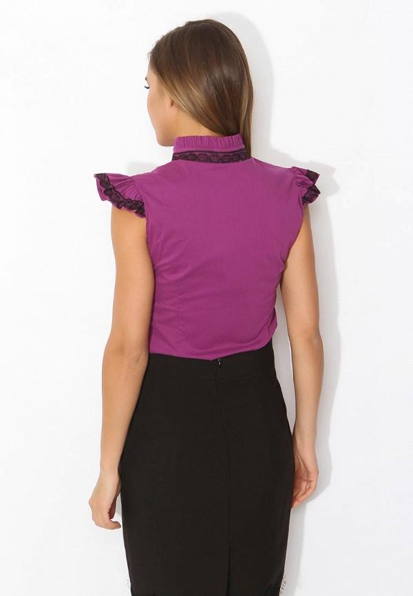 Фото 7 - женскую блузку Tutto Bene фиолетового цвета