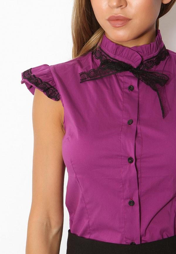 Фото 8 - женскую блузку Tutto Bene фиолетового цвета