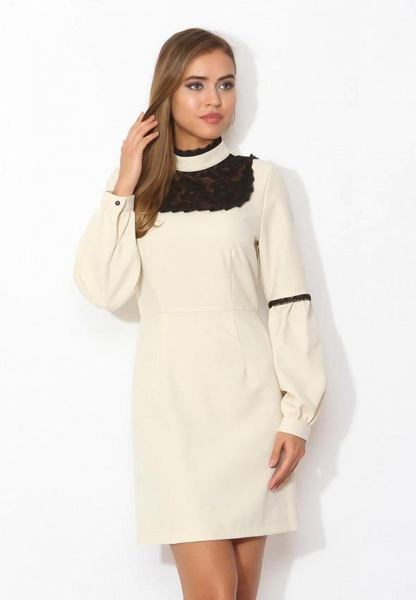 Купить Платье Tutto Bene, TU009EWZWM50, бежевый, Весна-лето 2018