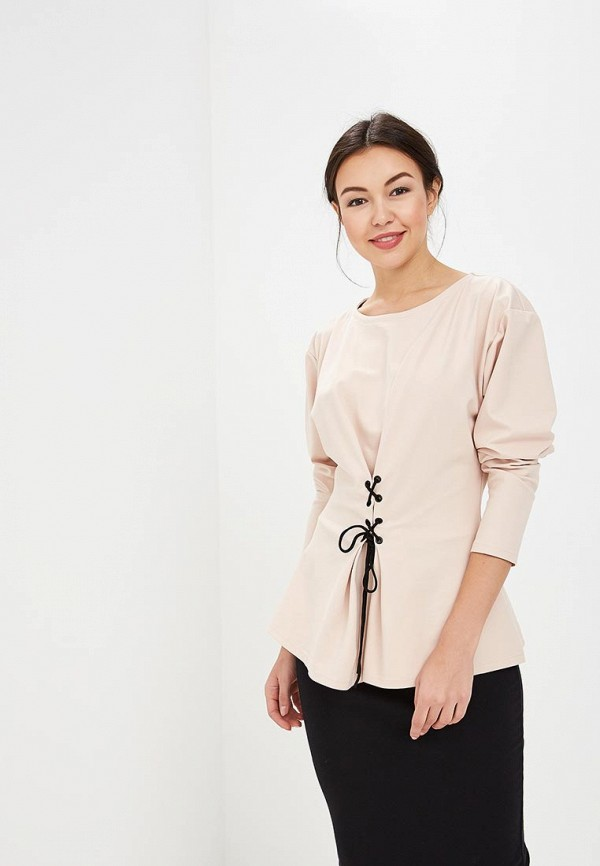 Купить Блуза Tutto Bene, TU009EWZWM91, бежевый, Весна-лето 2018