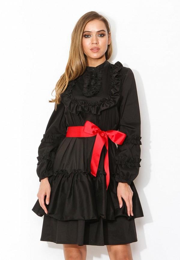 Платье Tutto Bene, TU009EWZWN15, черный, Весна-лето 2018  - купить со скидкой