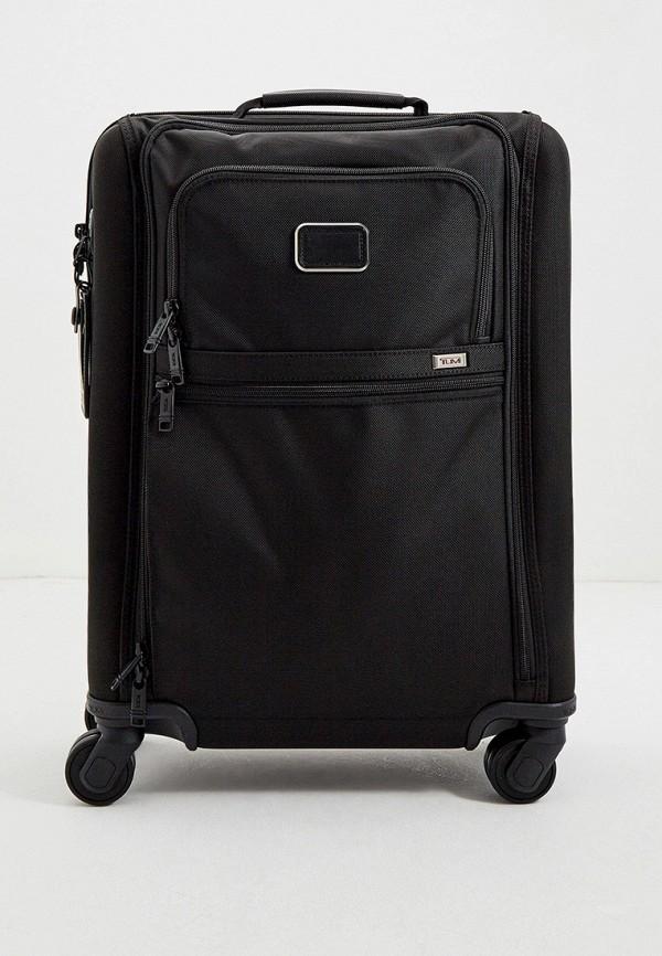 женский чемодан tumi, черный