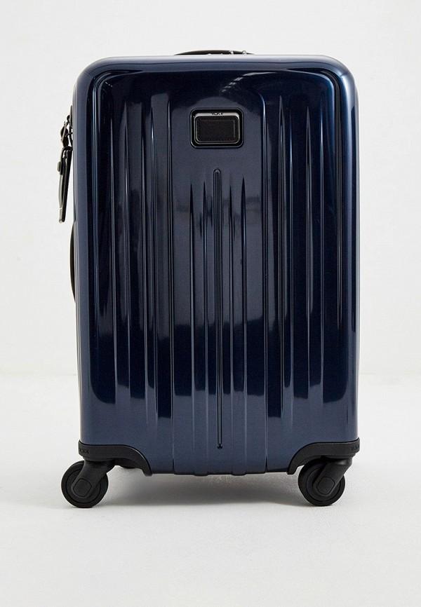 женский чемодан tumi, синий