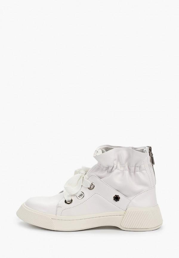 Фото - женские ботинки и полуботинки Tuffoni белого цвета