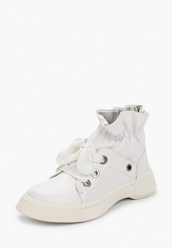 Фото 2 - женские ботинки и полуботинки Tuffoni белого цвета