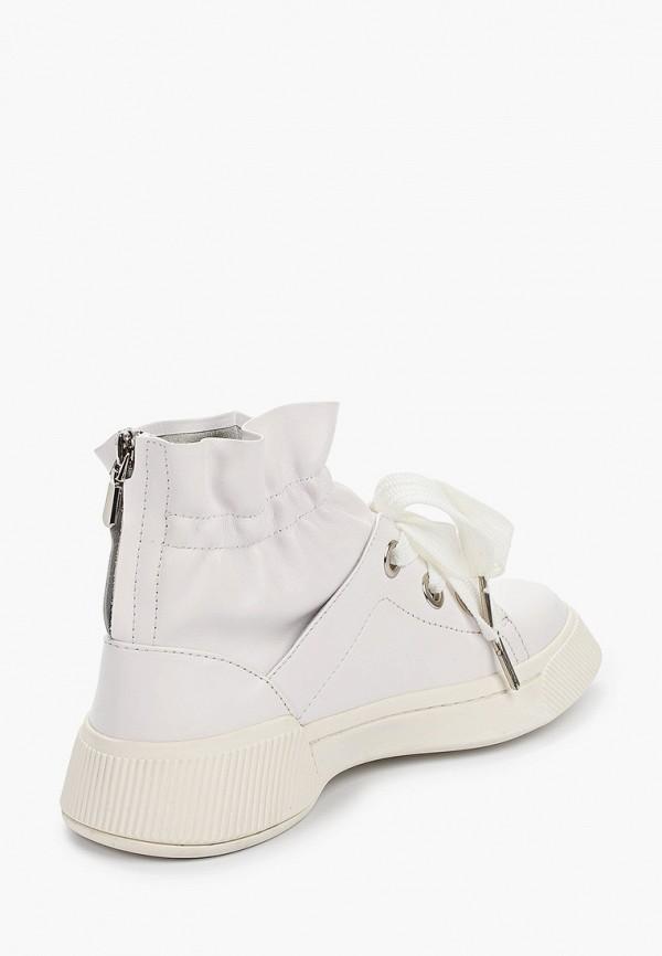 Фото 3 - женские ботинки и полуботинки Tuffoni белого цвета