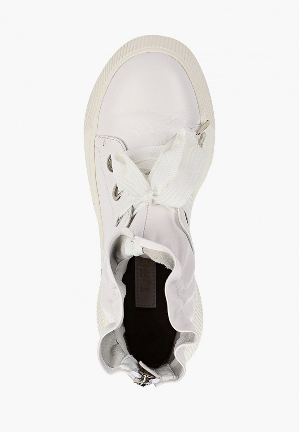 Фото 4 - женские ботинки и полуботинки Tuffoni белого цвета