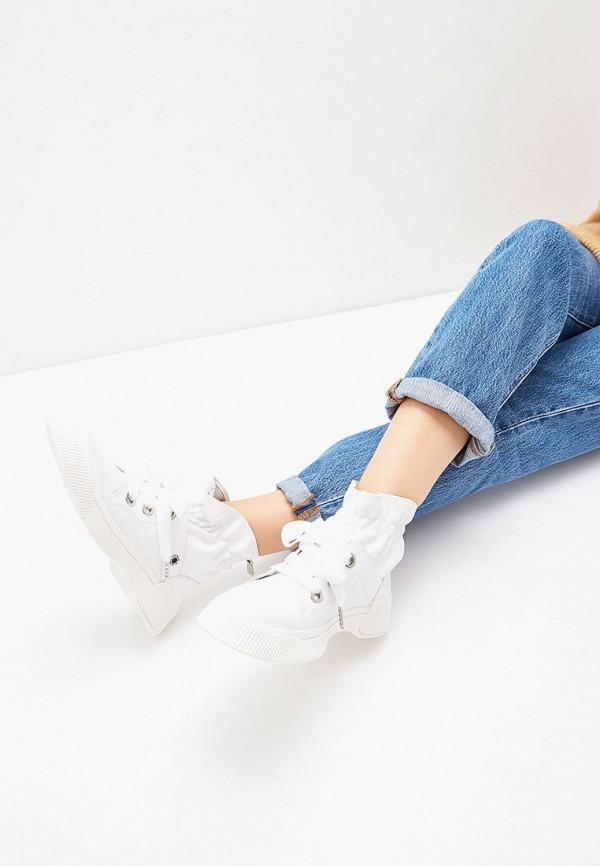 Фото 6 - женские ботинки и полуботинки Tuffoni белого цвета