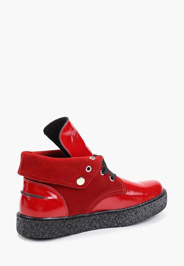 Фото 3 - женские ботинки и полуботинки Tuffoni красного цвета