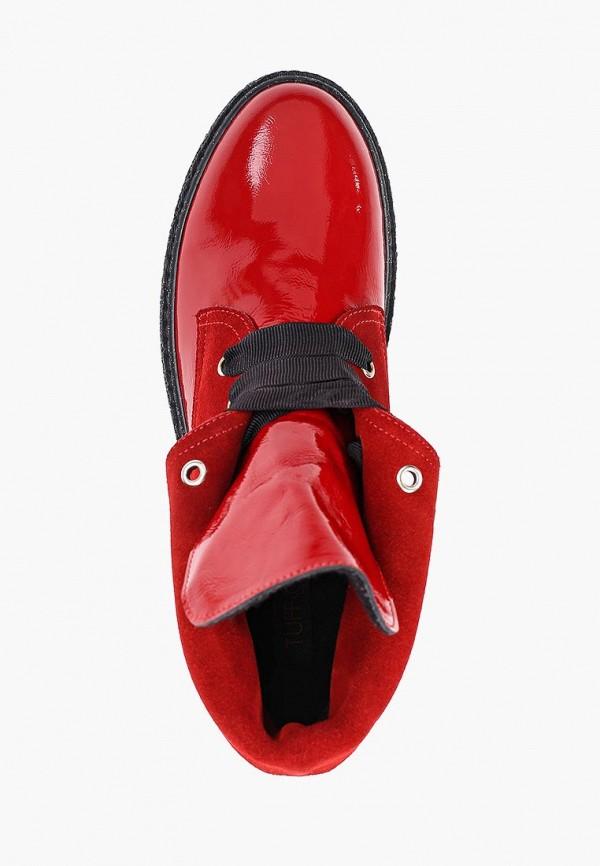 Фото 4 - женские ботинки и полуботинки Tuffoni красного цвета