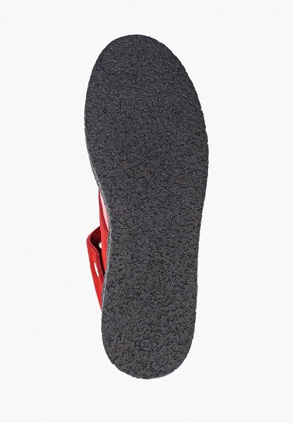 Фото 5 - женские ботинки и полуботинки Tuffoni красного цвета
