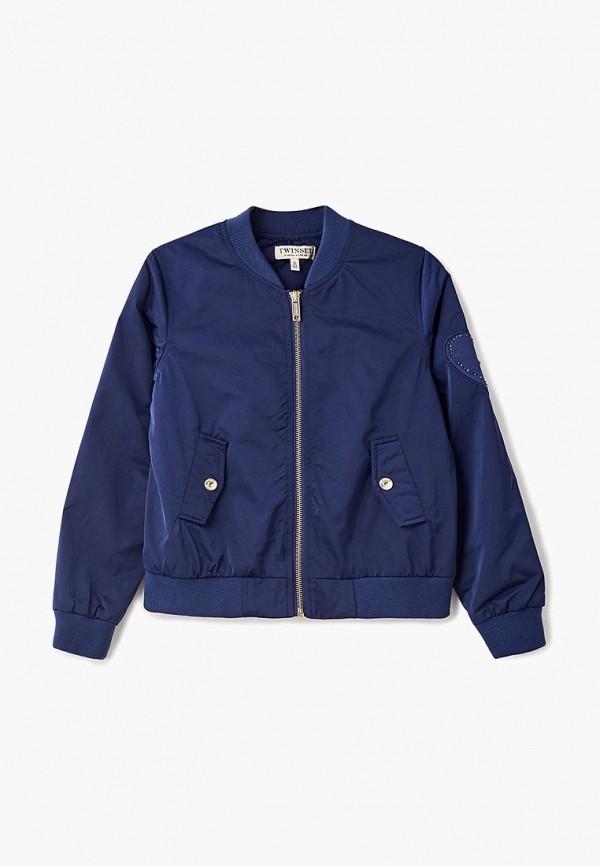 Купить Куртка Twin-Set Simona Barbieri, TW005EGAOZR6, синий, Весна-лето 2018