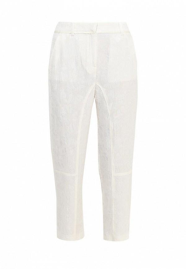 женские повседневные брюки twin-set simona barbieri, бежевые