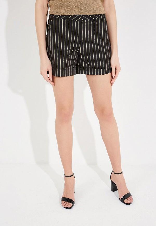 женские повседневные шорты twin-set simona barbieri, черные