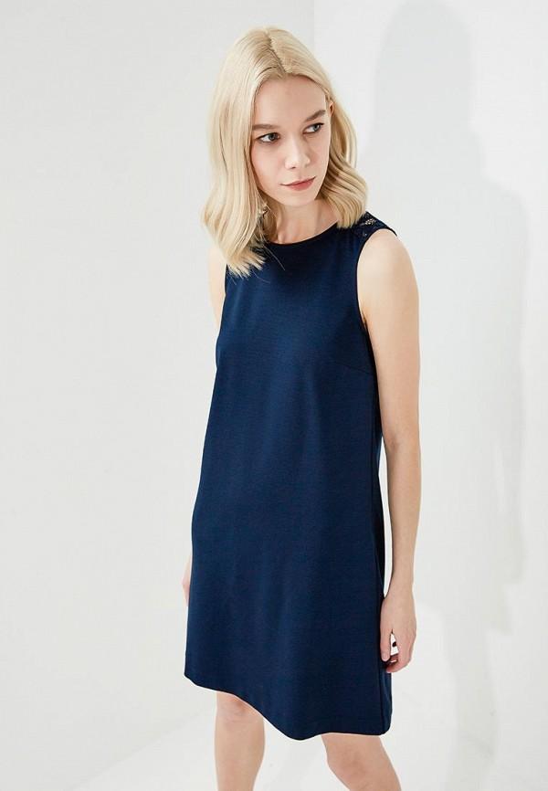 женское повседневные платье twin-set simona barbieri, синее