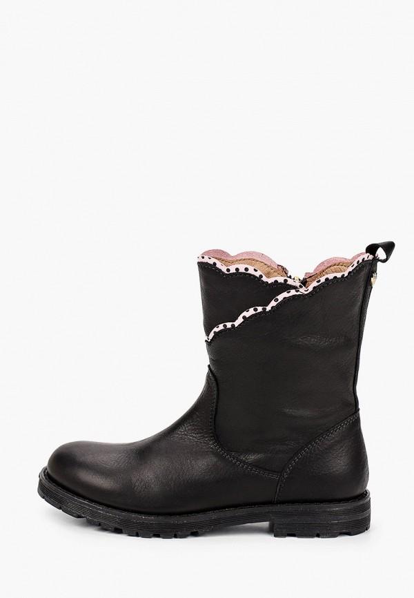 ботинки twinset milano для девочки, черные