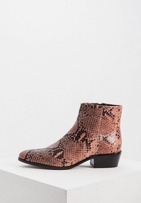 женские ботинки twinset milano, коричневые