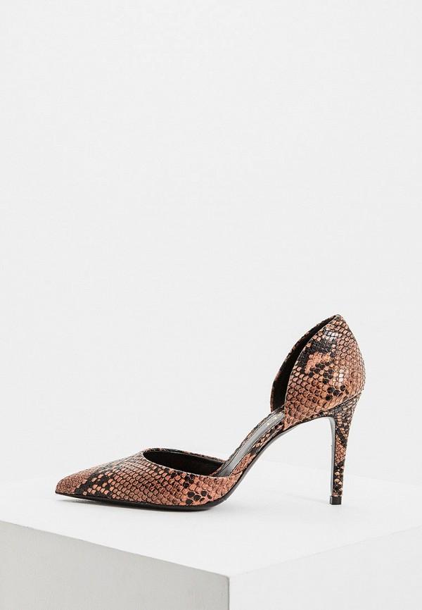 женские туфли twinset milano, коричневые