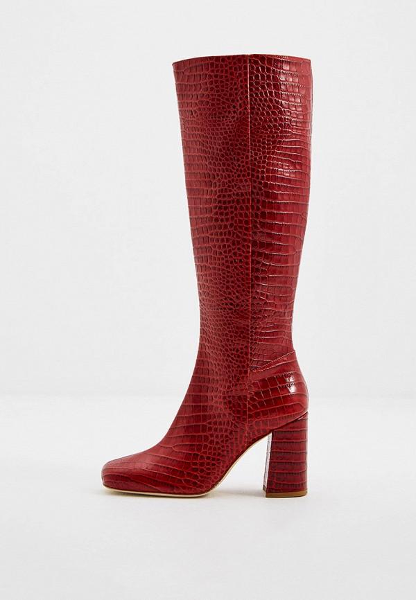 женские сапоги twinset milano, красные
