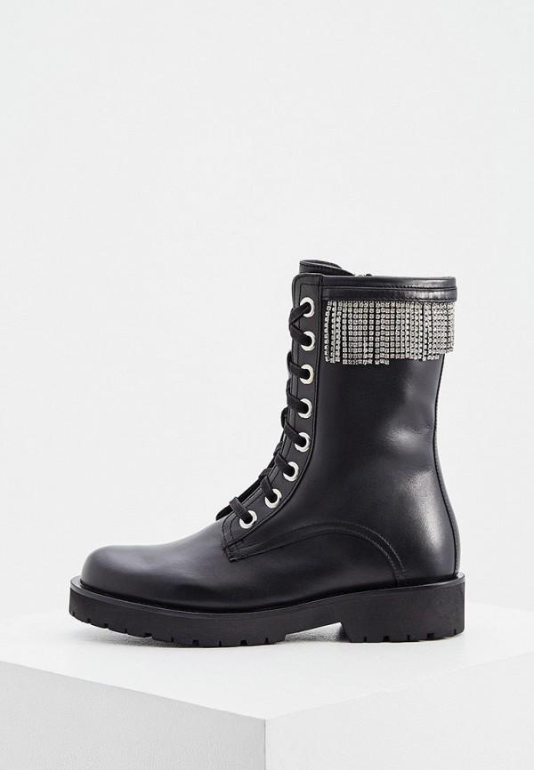 женские ботинки twinset milano, черные