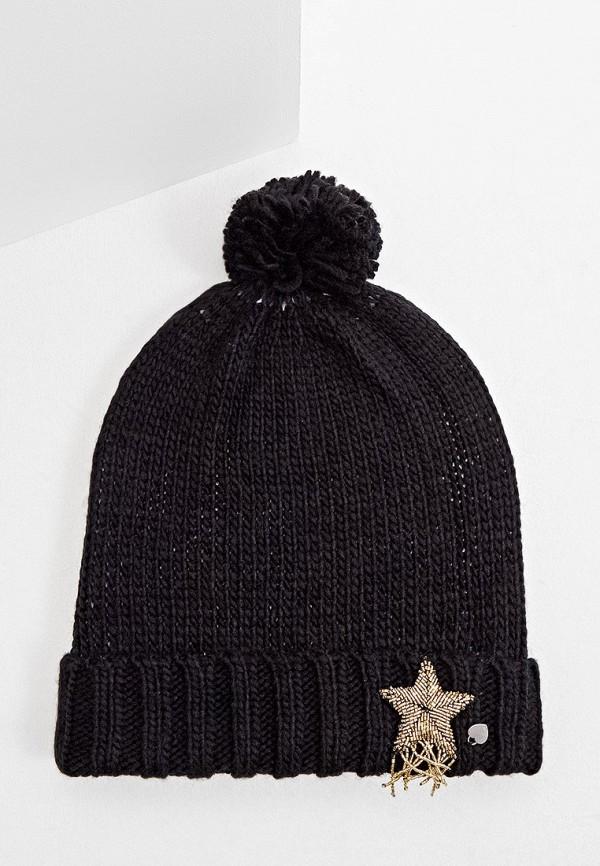 женская шапка twinset milano, черная
