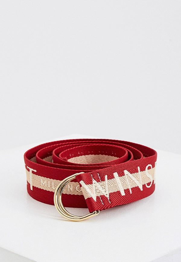 женский ремень twinset milano, красный