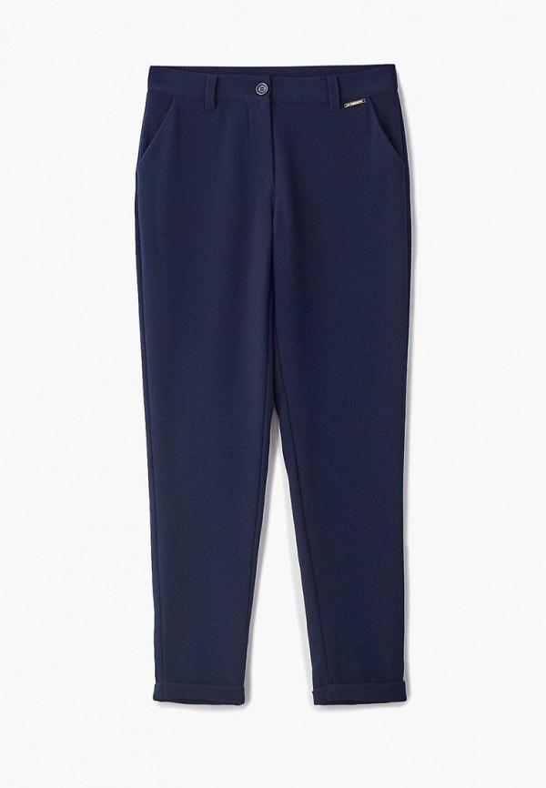 брюки twinset milano для девочки, синие