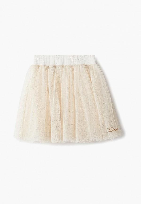 юбка twinset milano для девочки, золотая