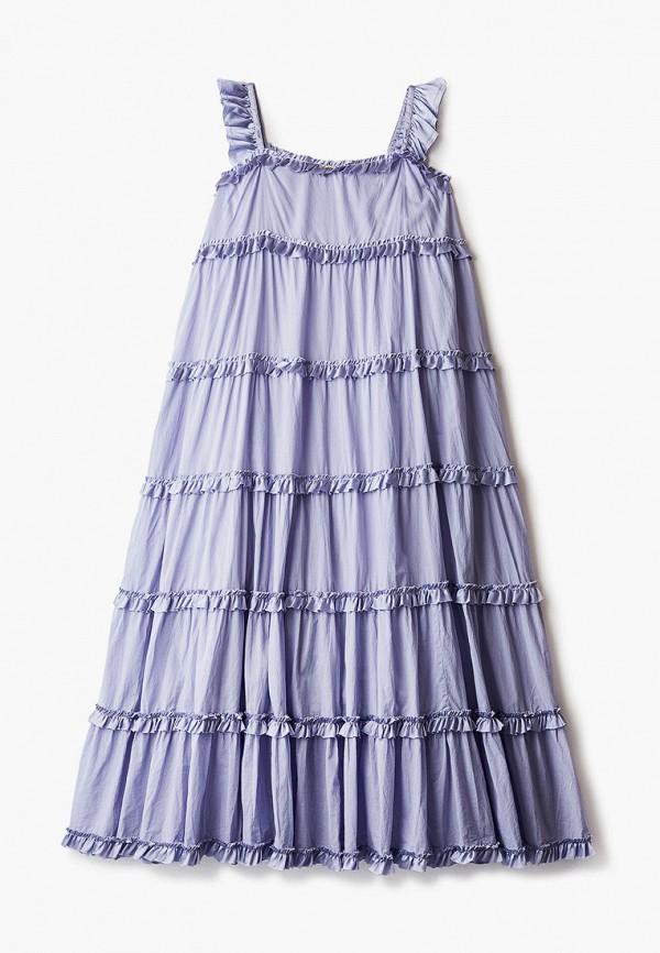 сарафан twinset milano для девочки, фиолетовый