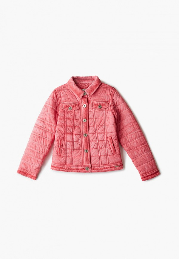 куртка twinset milano для девочки, розовая